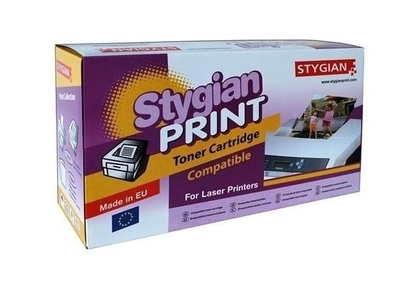 Toner STYGIAN kompatibilní s Lexmark C5202YS Toner, alternativa za Lexmark C520-Y, žlutá, 3000 stran, C5202YS 3334038003