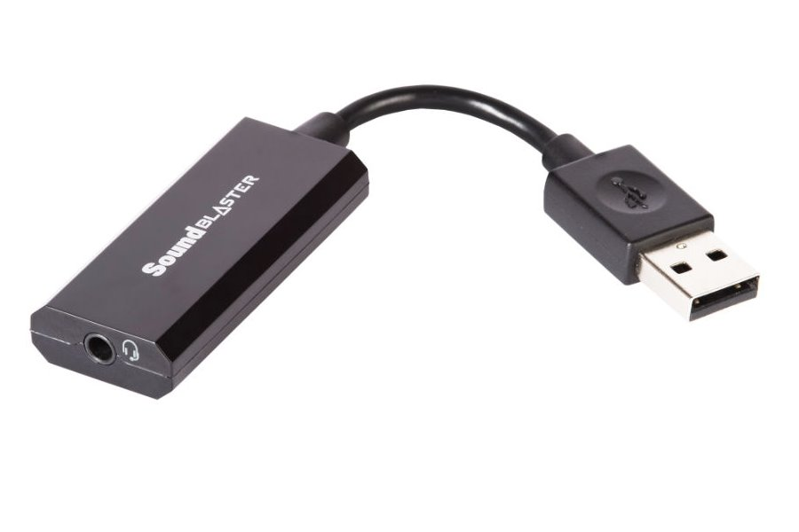 Zvuková karta CREATIVE Sound Blaster Play2 Zvuková karta, externí, jack 3,5 mm + USB 70SB162000001