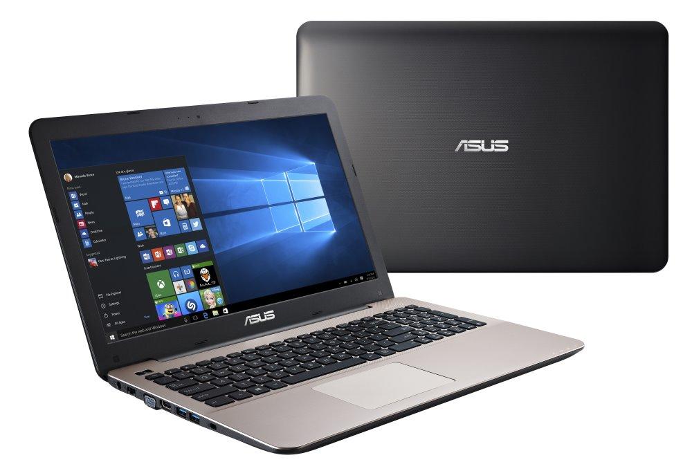 Notebook ASUS F555LF-DM417T Notebook, i5-5200U, 4 GB, 1 TB - 5400, 15,6 FHD, DVD, GT 930M 2 GB, DVD-RW, W10, hnědý F555LF-DM417T