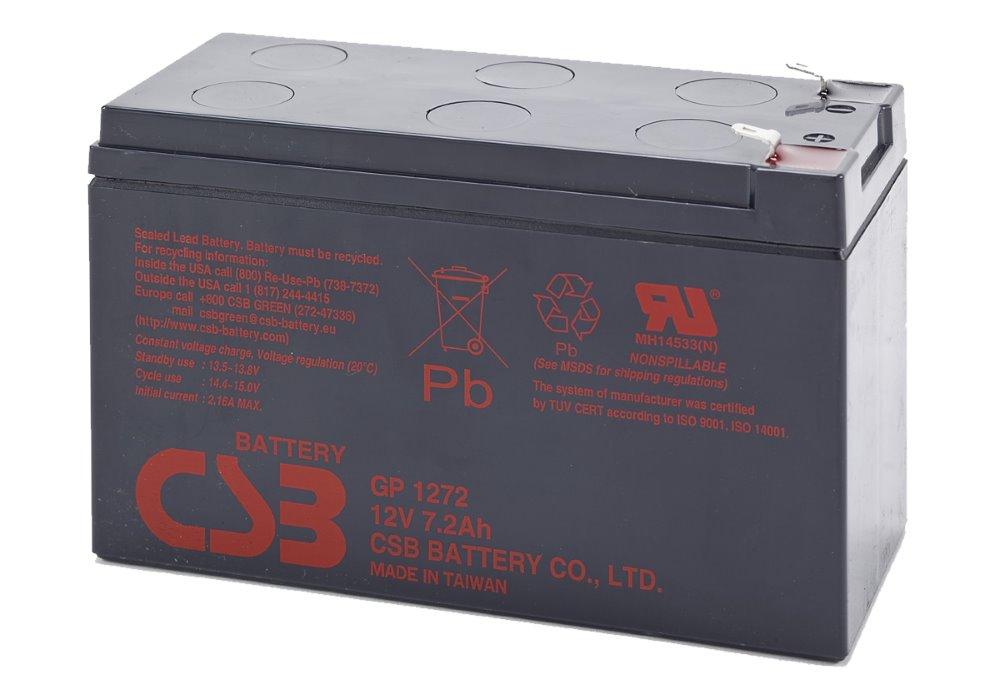 Baterie BAT-CSB-12V-7Ah Baterie, pro UPS Eaton, 12 V, 7,2 Ah BAT-CSB-12V-7Ah