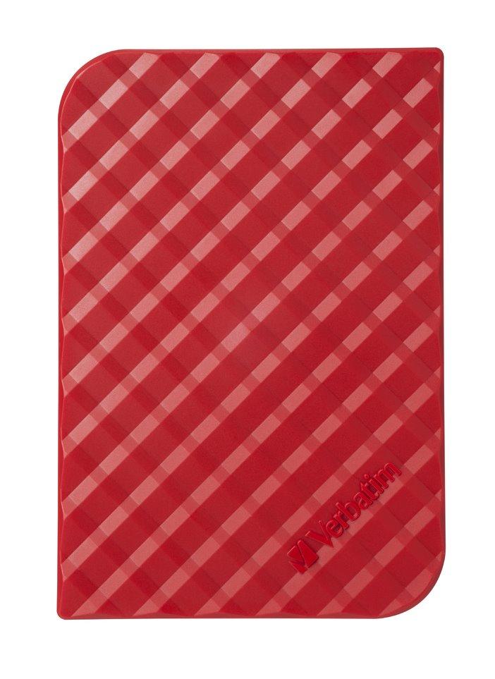 Pevný disk Verbatim 1 TB Pevný disk, externí, 1 TB, 2,5, USB 3.0, GEN2, červený 53203