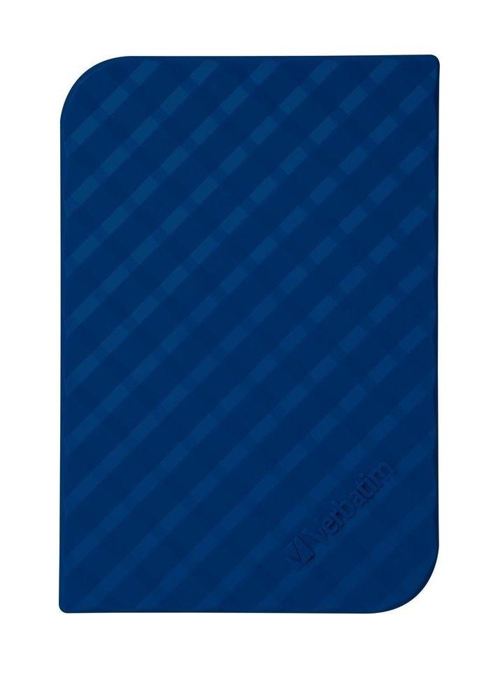 Pevný disk Verbatim 1 TB Pevný disk, externí, 1 TB, 2,5, USB 3.0, GEN2, modrý 53200