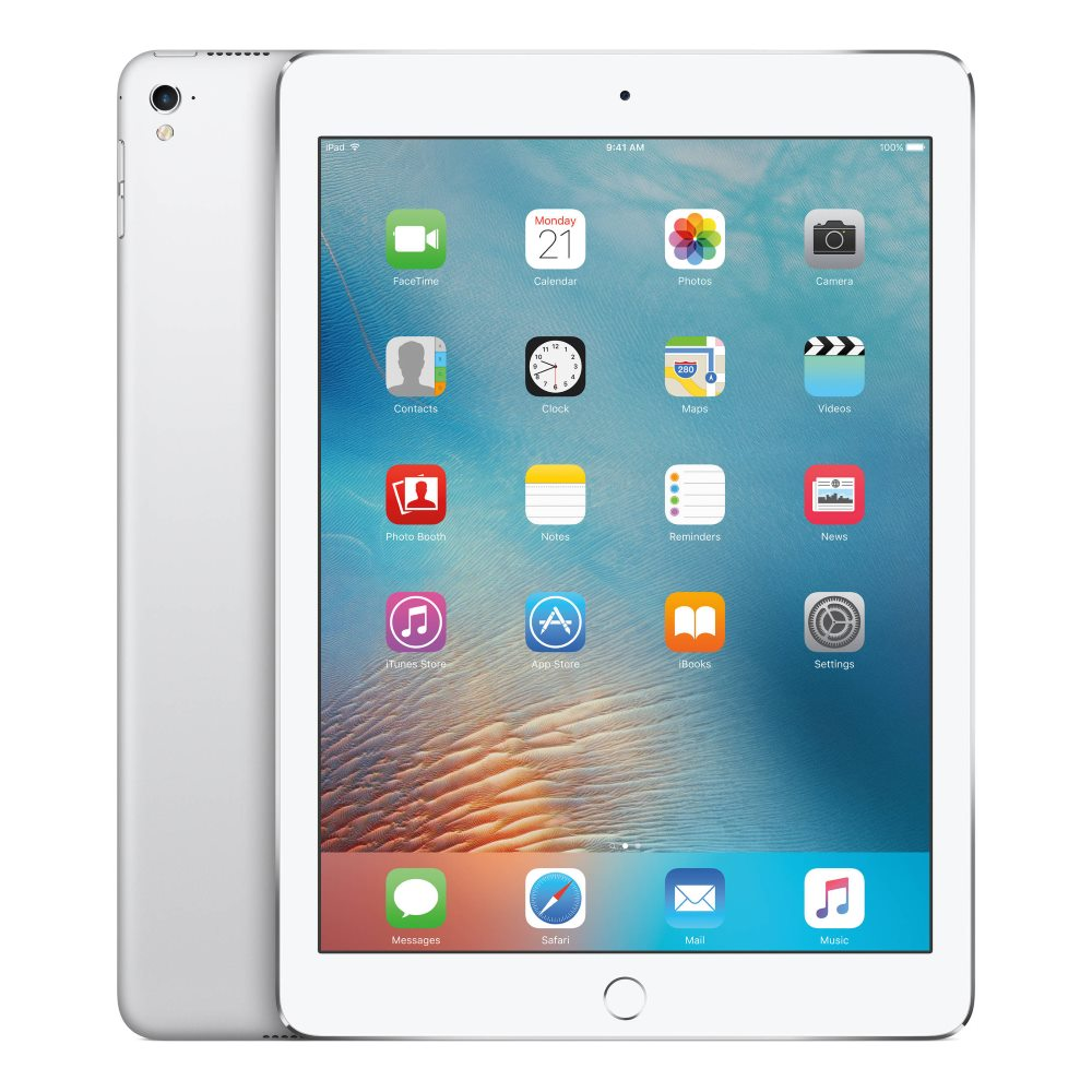 Tablet Apple iPad Pro Wi-Fi 128GB stříbrný Tablet, 9,7, 128 GB, WiFi, Silver MLMW2FD/A