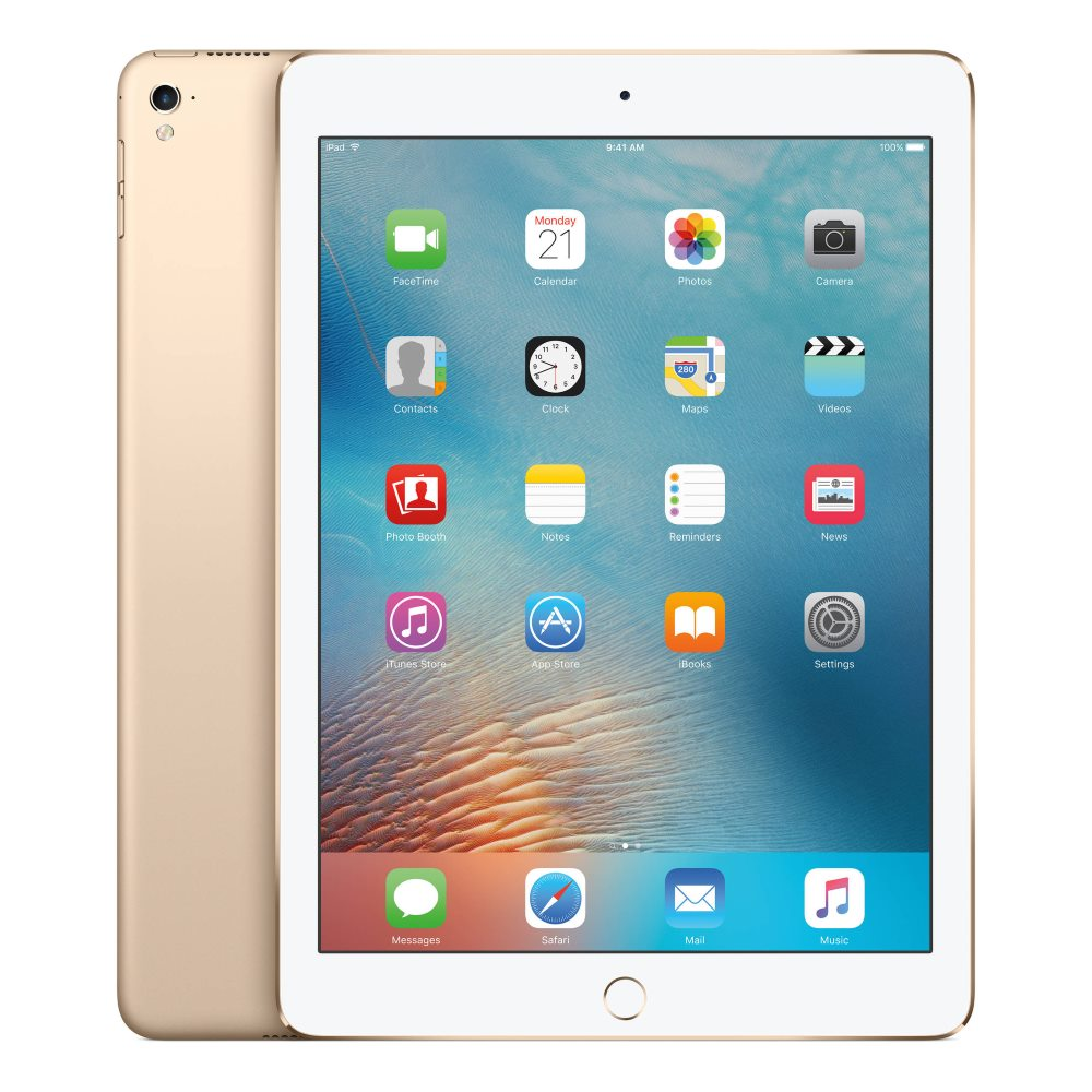 Tablet Apple iPad Pro Wi-Fi 128GB zlatý Tablet, 9,7, 128 GB, WiFi, Gold MLMX2FD/A