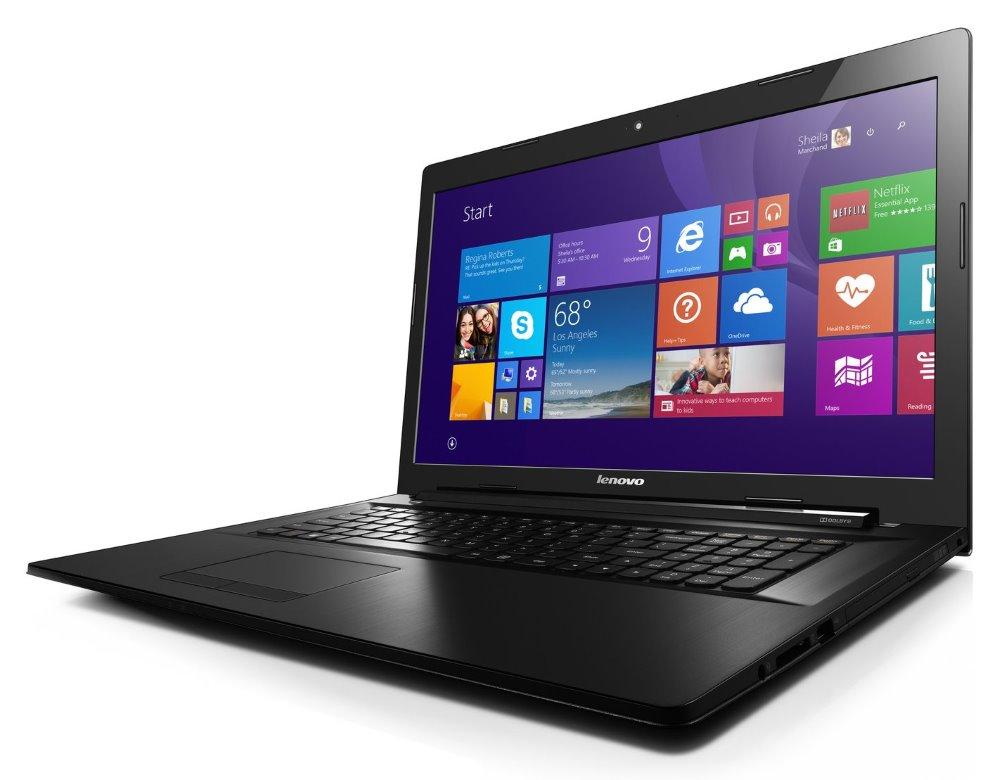 Notebook Lenovo B70-80 Notebook, i3-5005U, 4 GB, 1 TB-5400, Intel HD Graphics, 17,3 HD+, DVD-RW, W10 Home 64bit, 2yCarryIn 80MR02KTCK