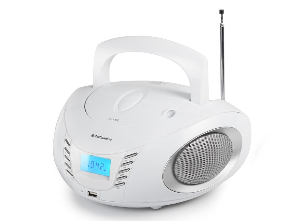 Rádio TOPCOM AudioSonic CD-1593 Rádio, stereo, s CD přehrávačem, MP3, USB CD-1593