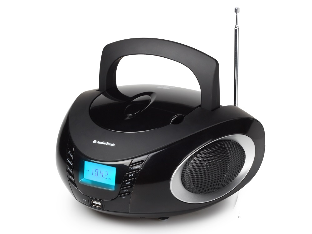 Rádio TOPCOM AudioSonic CD-1594 Rádio, stereo, s CD přehrávačem, MP3, USB CD-1594