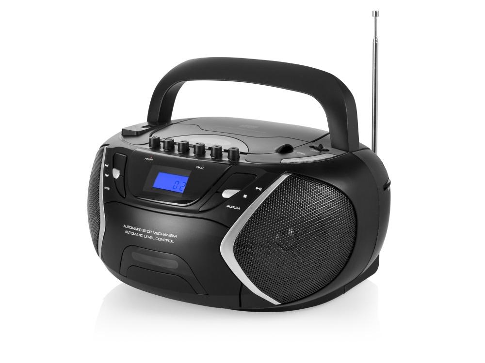 Rádio TOPCOM AudioSonic CD-1596 Rádio, stereo, s CD přehrávačem, MP3, USB, kazety CD-1596