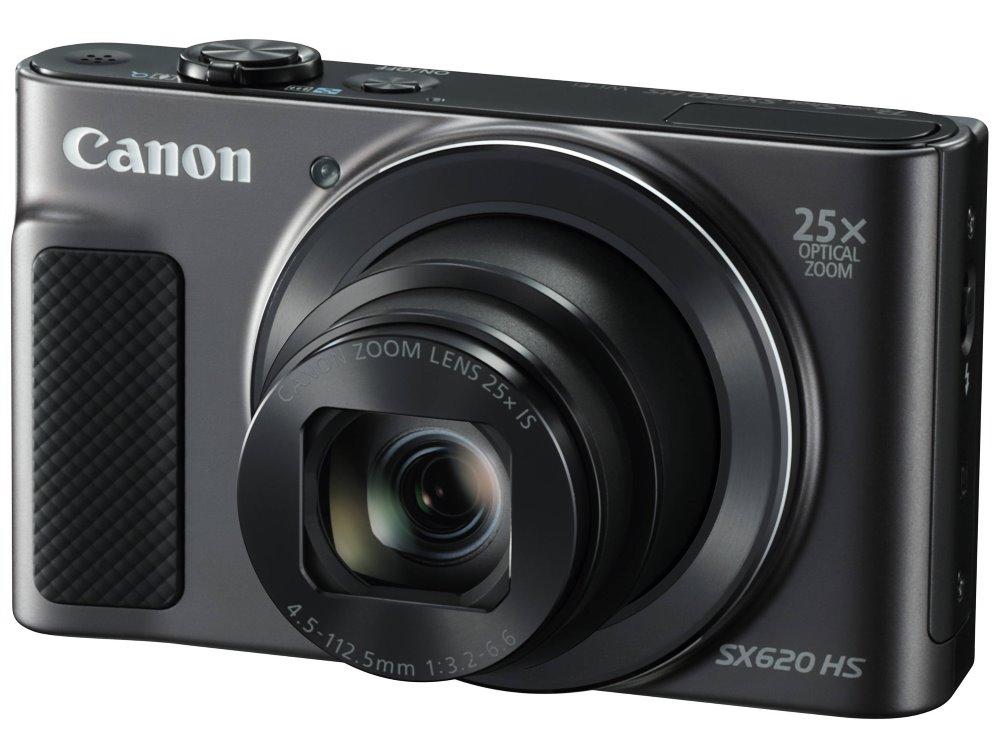"""Digitální fotoaparát Canon PowerShot SX620 HS Digitální fotoaparát, kompaktní, 20.2 MPx, 25 x zoom, 3"""" LCD, FULL HD video, Wi-Fi, černý"""