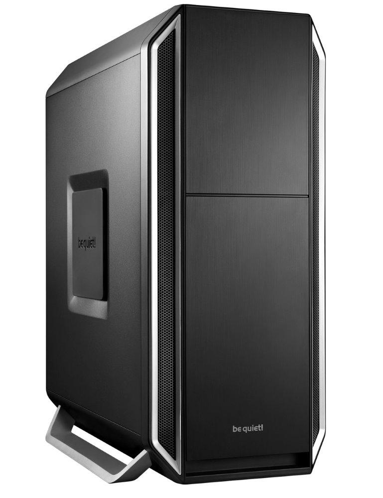 Skříň Be quiet! SILENT BASE 800 Skříň, MidT, bez zdroje, 2x USB2.0 + 2x USB3.0, černostříbrná BG003