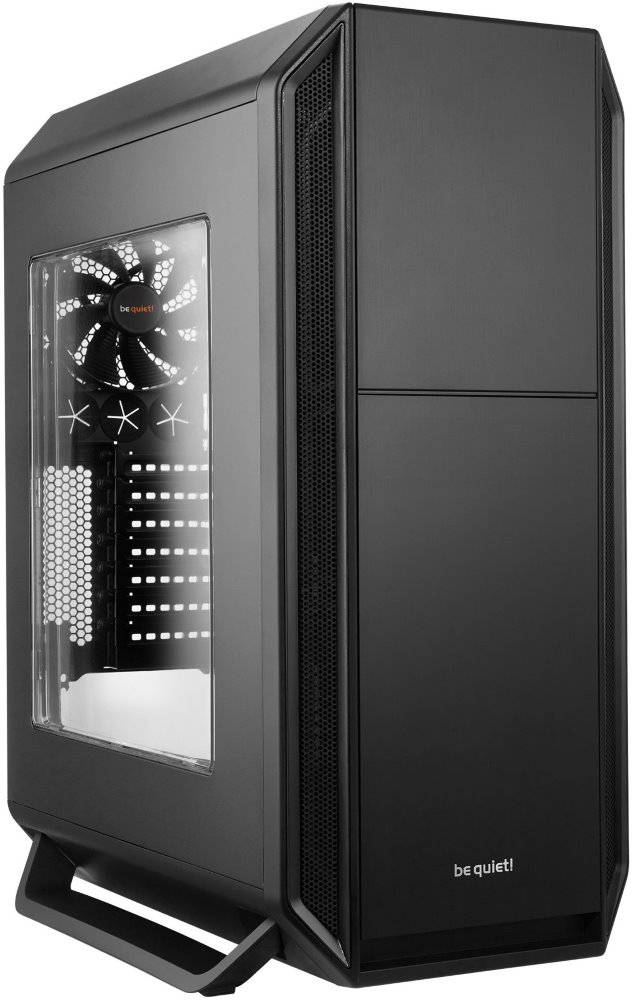 Skříň Be quiet! SILENT BASE 800 Skříň, MidT, bez zdroje, 2x USB2.0 + 2x USB3.0, černá, průhledná bočnice BGW02