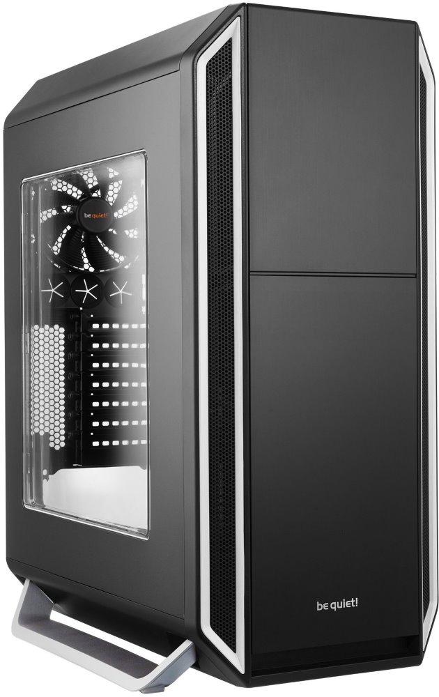 Skříň Be quiet! SILENT BASE 800 Skříň, MidT, bez zdroje, 2x USB2.0 + 2x USB3.0, černostříbrná, průhledná bočnice BGW03