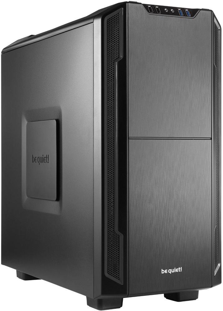 Skříň Be quiet! SILENT BASE 600 Skříň, MidT, bez zdroje, 2x USB2.0 + 2x USB3.0, černá BG006