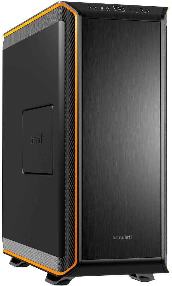 Skříň Be quiet! DARK BASE 900 Skříň, BigTower, bez zdroje, 2x USB2.0 + 2x USB3.0, černooranžová BG010