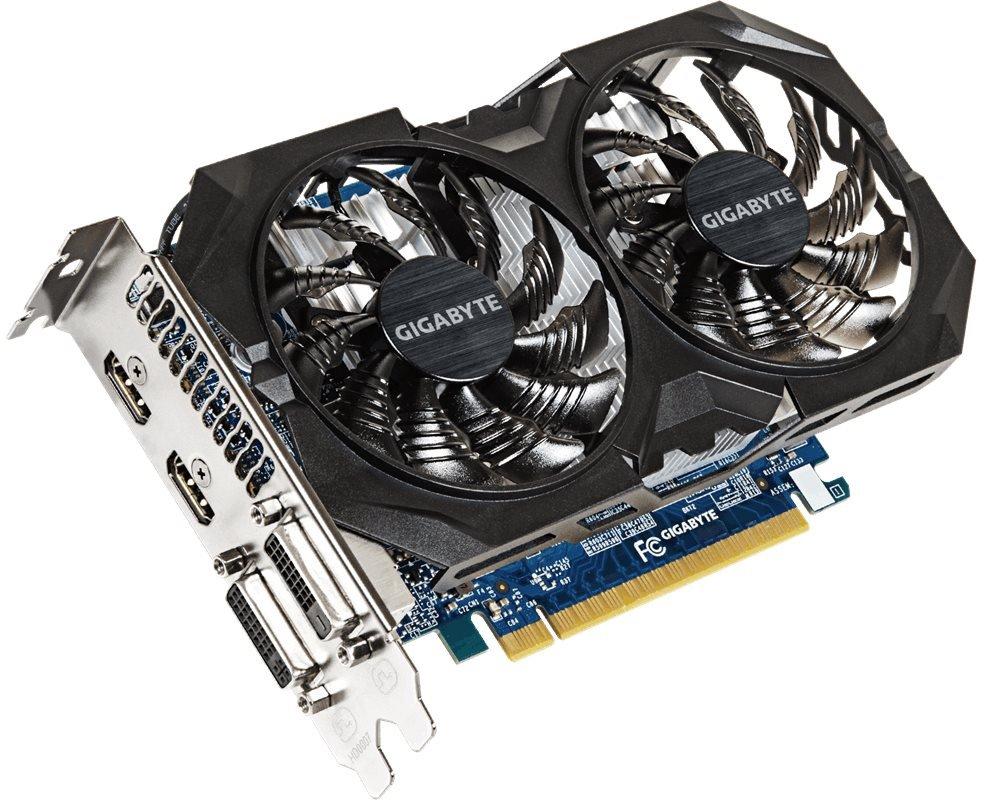 Grafická karta GIGABYTE nVIDIA GTX750 TI 2GB Grafická karta, PCI-E, GDDR5, 2xHDMI, 2xDVI, active Overclock - OPRAVENÉ VGGB2819V