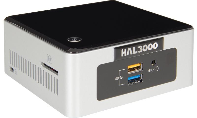 HAL3000 NUC Kit Celeron Počítač, Intel Celeron N3050, 4GB, SSD 120GB, WiFi, CR, bez OS PCHS2122