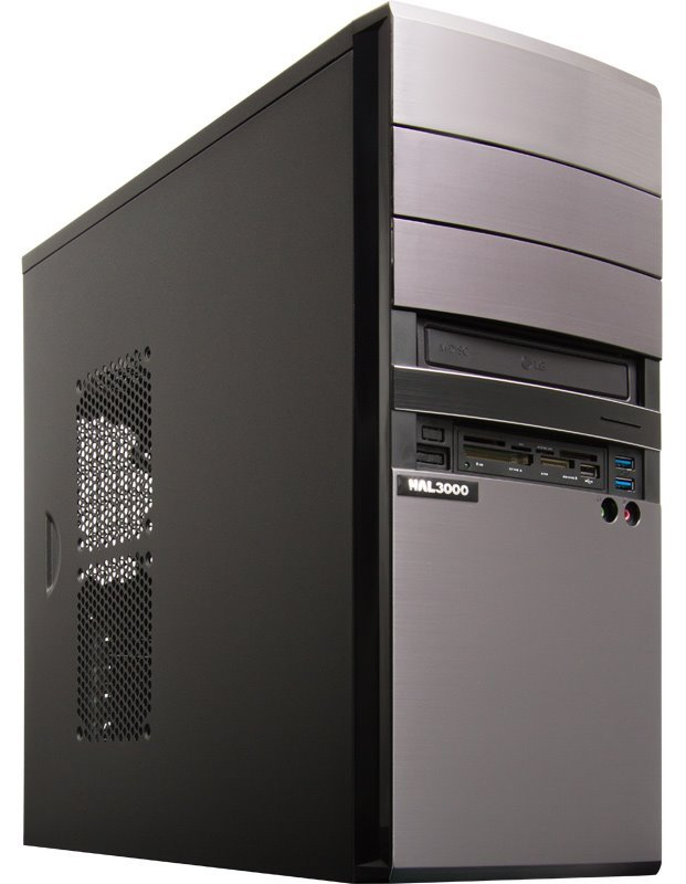 HAL3000 EliteWork II W10 5R Počítač, Intel i5-6400, 8GB, 1TB, DVD, CR, W10 PCHS21281