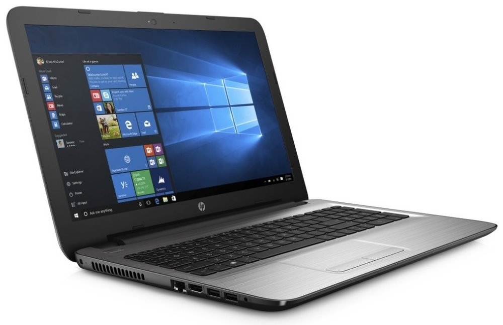 Notebook HP 250 G5 Notebook, 15,6 FHD, i5-6200U, 4 GB, 256 GB SSD, DVDRW, Intel HD, VGA, HDMI, RJ-45, Win 10 Home X0N53EABCM