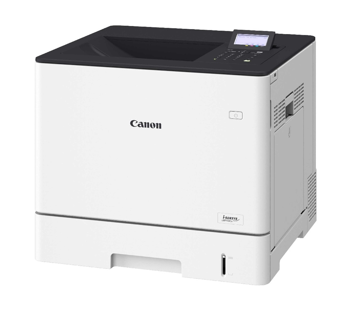 Laserová tiskárna Canon i-SENSYS LBP710CX Barevná laserová tiskárna, A4, 9600x600, Duplex, LAN, USB, bílá 0656C006