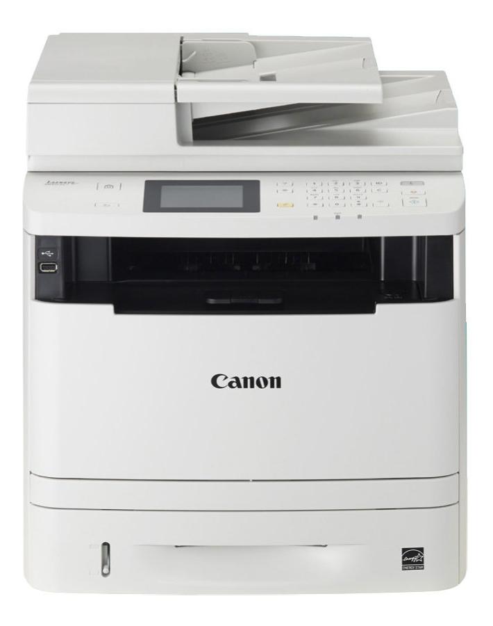Multifunkční tiskárna Canon i-SENSYS MF416DW Černobílá multifunkční laserová tiskárna, A4, 1200x1200, LCD, DADF, Duplex, FAX, USB, LAN, WI-FI 0291C013
