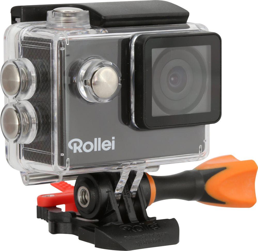 Kamera Rollei ActionCam 300 Plus Kamera, outdoor, HD video 720p/30 fps, 140, 40m pzd, černá, CZ + SK menu 40299