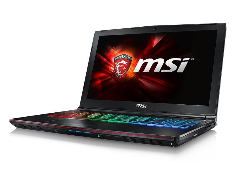 Notebook MSI GE62 6QE-1037CZ Apache Pro Notebook, 15,6 FHD, i7-6700HQ, 2 x 8 GB DDR4, 1 TB, GTX 965M 2 GB, Win 10 Home GE62 6QE-1037CZ