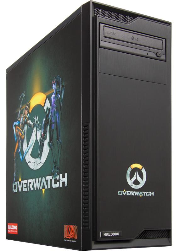 HAL3000 Overwatch Počítač, Intel i5-6500, 16GB, GTX 1070, 240GB SSD + 1TB, DVD, bez OS PCHS2137
