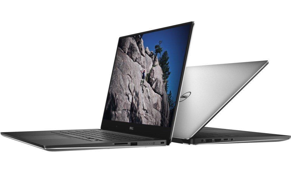 Notebook DELL XPS 15 Notebook, i7-6700HQ, 8 GB, 256 GB SSD, nVidia GTX 960M 2 GB, 15.6 FHD, W10Pro, stříbrný, 3YNBD on-site 9550-6144