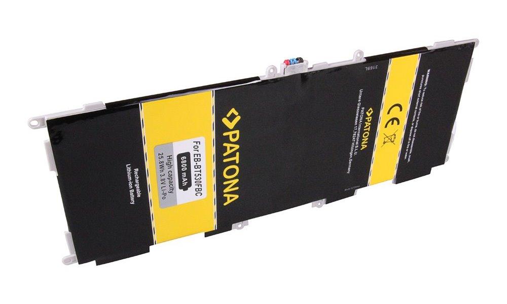 Baterie PATONA pro Samsung Galaxy Tab 4 10.1 Baterie, pro tablet Samsung Galaxy Tab 4 10.1, 6800 mAh, 3,8 V, Li-Pol PT3169
