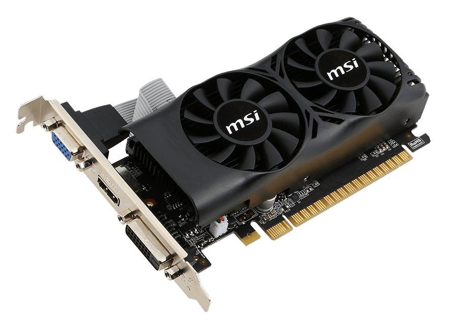 Grafická karta MSI N750Ti 2GD5TLP Grafická karta, PCI-E, 2 GB GDDR5, DVI, HDMI N750Ti-2GD5TLP