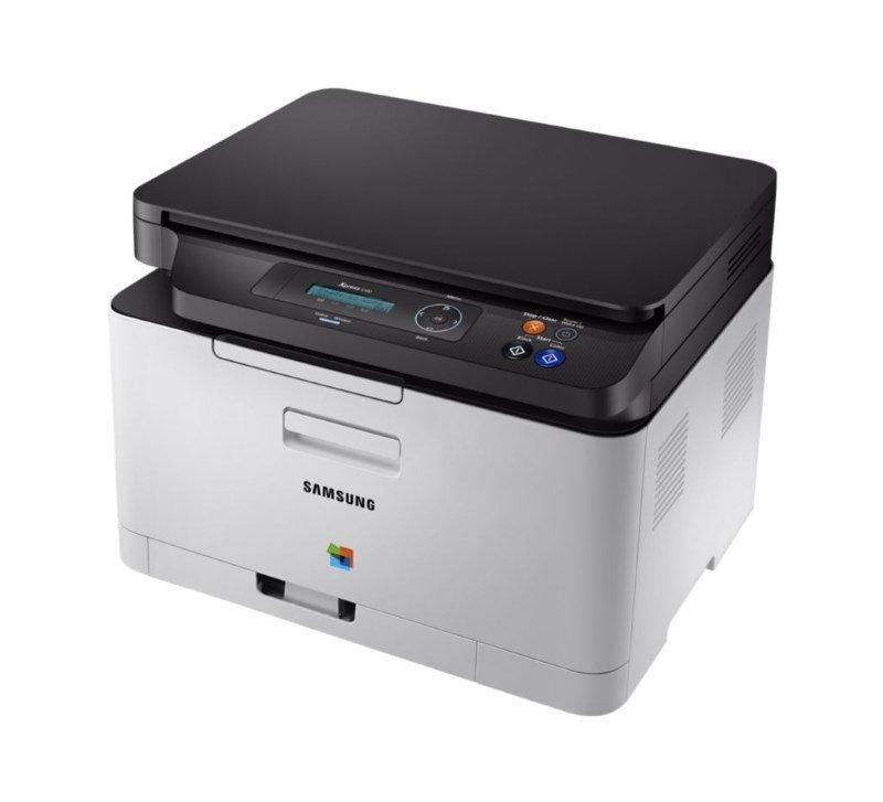 Multifunkční tiskárna SAMSUNG SL-C480 Barevná multifunkční laserová tiskárna, 4ppm, 2400x600 dpi, 128MB, SPL, USB, LCD - POŠKOZENÝ OBAL TISS3090V