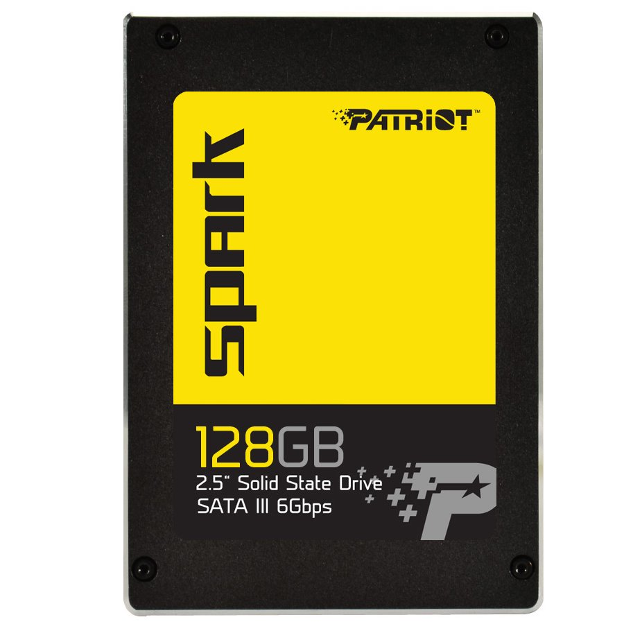 SSD disk PATRIOT SPARK 128 GB SSD disk, 128 GB, SATA III 6Gb/s, SSD, 2,5, 7 mm PSK128GS25SSDR