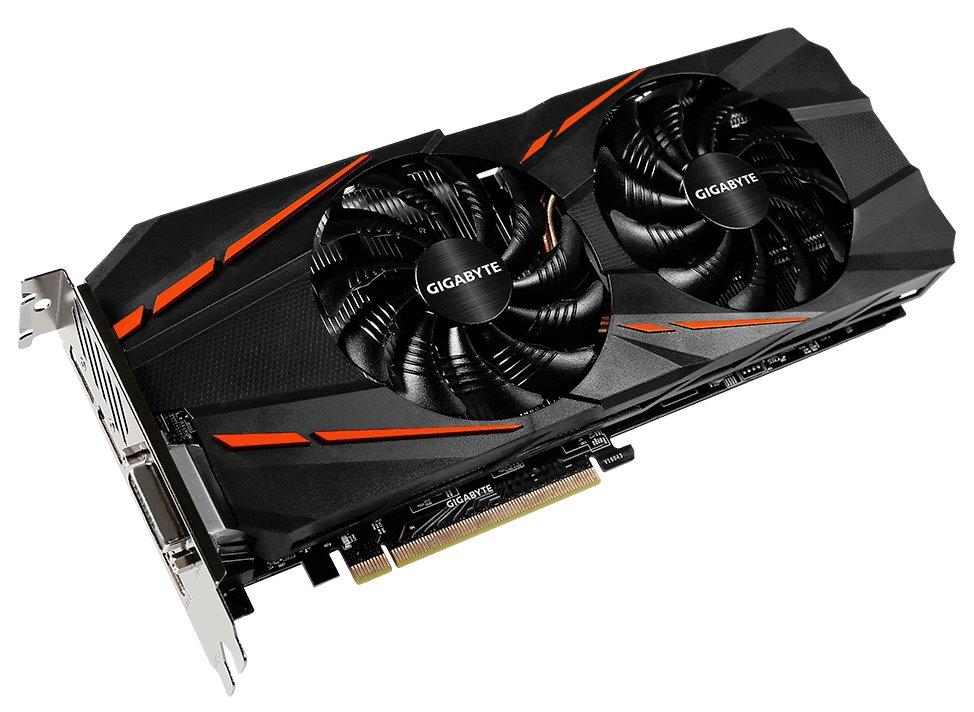 Grafická karta GIGABYTE nVIDIA GTX 1060 G1 Gaming Grafická karta, PCI-E, 6 GB GDDR5, 3 x DP, HDMI, DVI, active GV-N1060G1 GAMING-6G