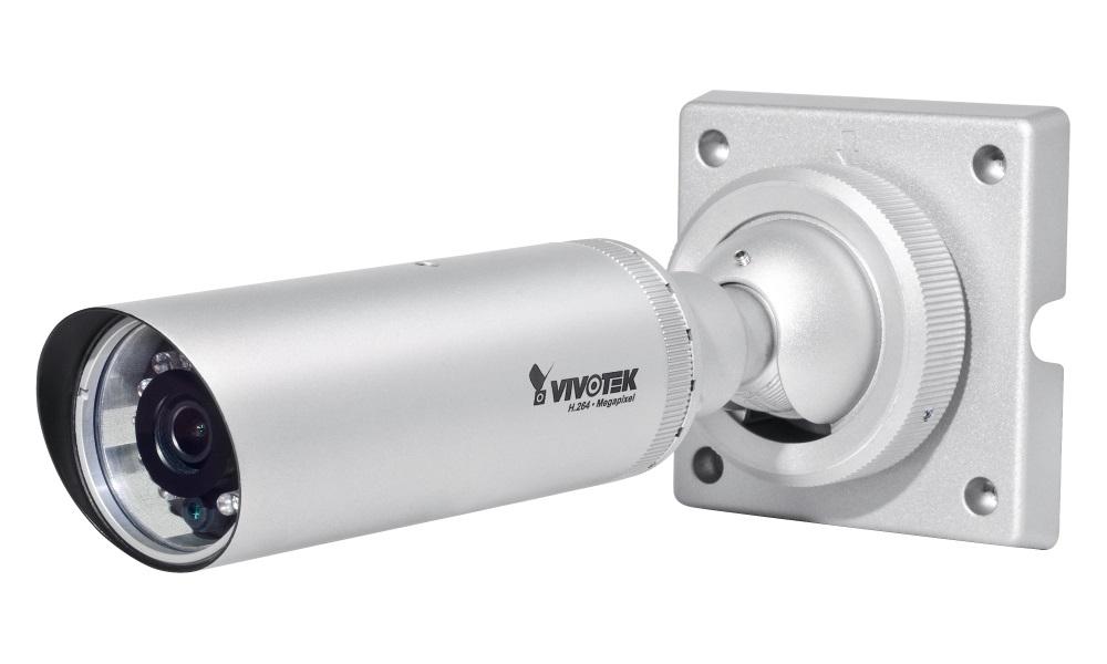IP kamera VIVOTEK IB8354-C IP kamera, 1,3Mpix CMOS, 25 sn/s, obj. 4mm, 3DNR, IR-LED, PoE, DI, IP66, s vnějším držákem na zeď IB8354-C