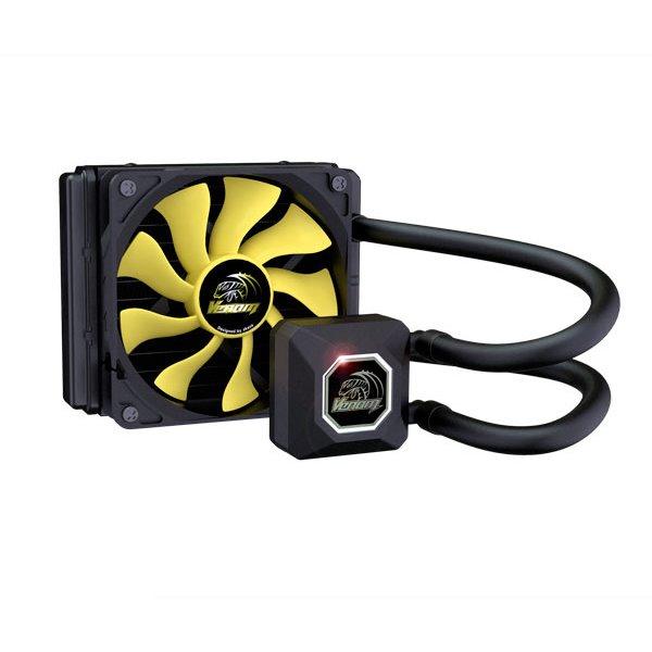 Vodní chladič AKASA Venom A10 Vodní chladič, pro CPU, Intel LGA 775, 115x, 1366, 2011 / AMD AM2, AM2+, AM3, AM3+, FM1, FM2 AK-LC4001HS01