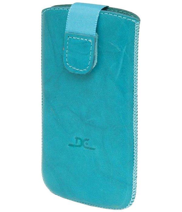 Pouzdro DC TOP T30 Protect Washed XXL 4,0 Pouzdro, pro mobilní telefon, vhodné pro Samsung Galaxy S, S3mini, myPhone FUNKY, tyrkysové LCSTOP30XXDTU