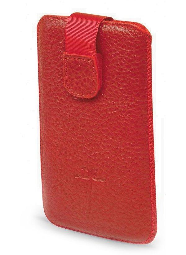Pouzdro DC TOP T36 Protect Floter XXXXL 4,3 Pouzdro, pro mobilní telefon, vhodné pro Samsung Galaxy II, S4-mini, červené LCSTOP36PRFLRE