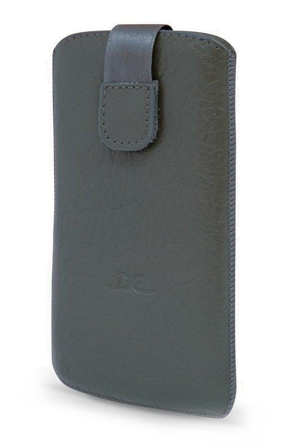Pouzdro DC TOP T37 Protect Montone XXXXXL 4,7 Pouzdro, pro mobilní telefon, vhodné pro Samsung Galaxy SIII, S4, NEXUS, S4-mini, šedé LCSTOP37PRMOGR