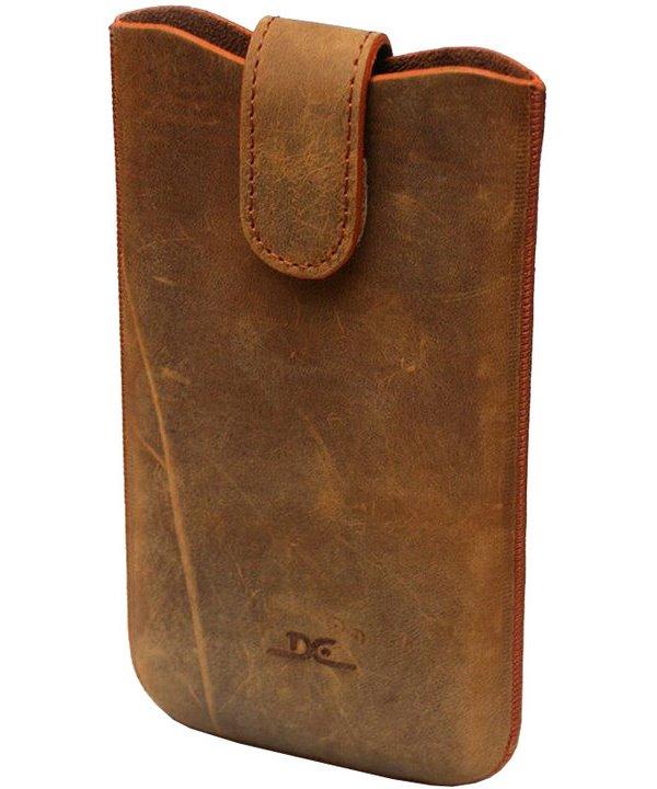 Pouzdro DC TOP Legacy Grezy 8XL 5,1 Pouzdro, pro mobilní telefon, vhodné pro Samsung Galaxy S5, hnědé LCSTOP47LEGRBR