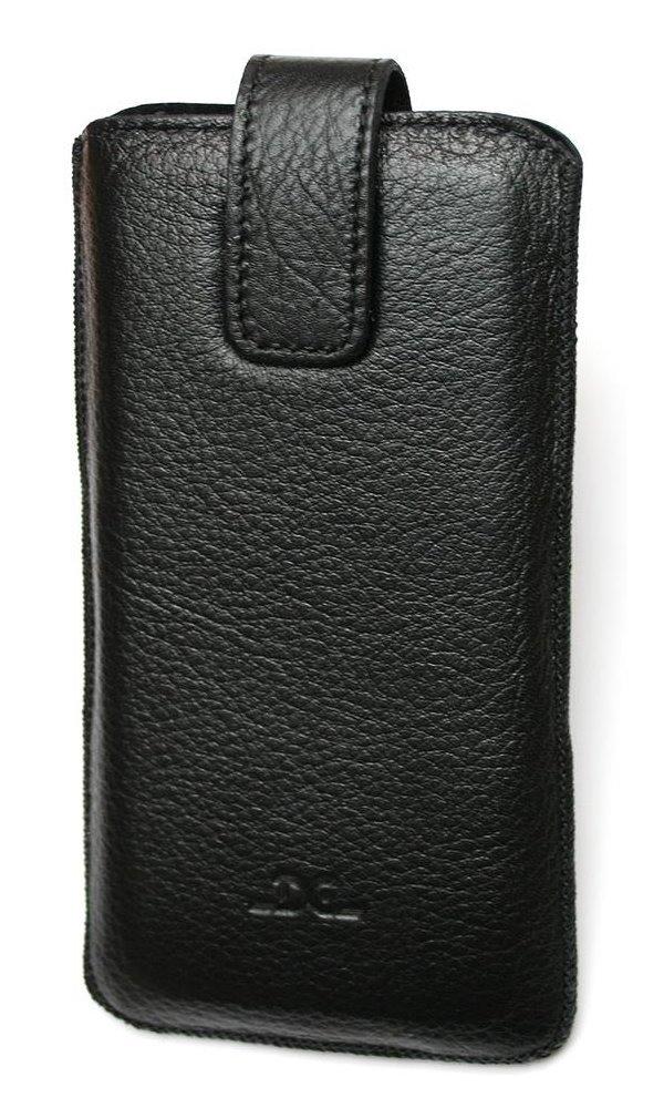Pouzdro DC TOP Guard Protect Montone 5,7 Pouzdro, pro mobilní telefon, vhodné pro Samsung Galaxy Note 4, černé LCSTOP48GUMOBK
