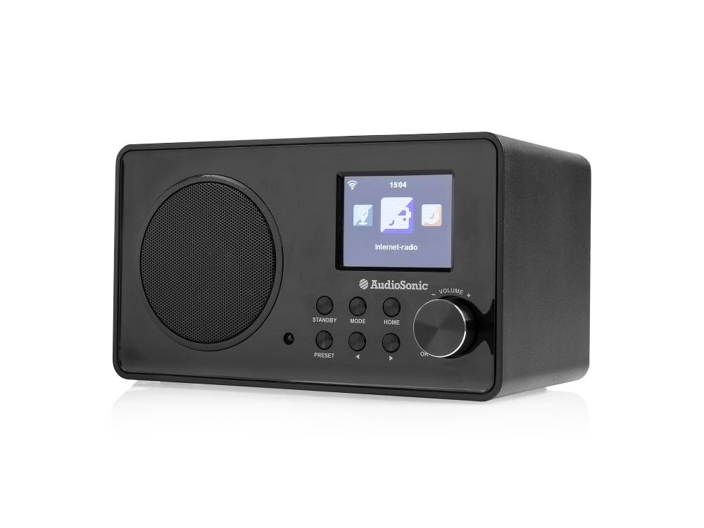 Rádio TOPCOM RD-8520 Rádio, internetové, 2,4 displej, WIFI, FM, budík, černá RD-8520