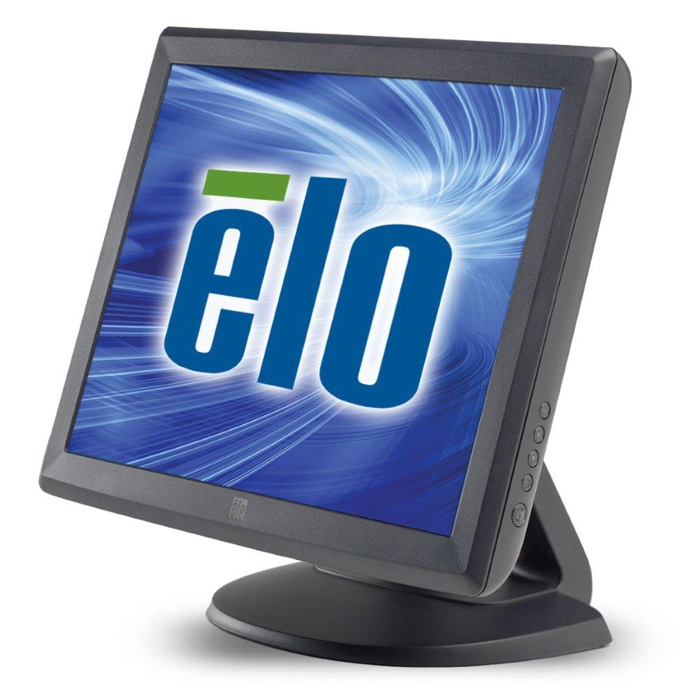Dotykový monitor ELO 1515L 15 Dotykový monitor, 15, AccuTouch, VGA, USB, RS232, tmavě šedý E344320
