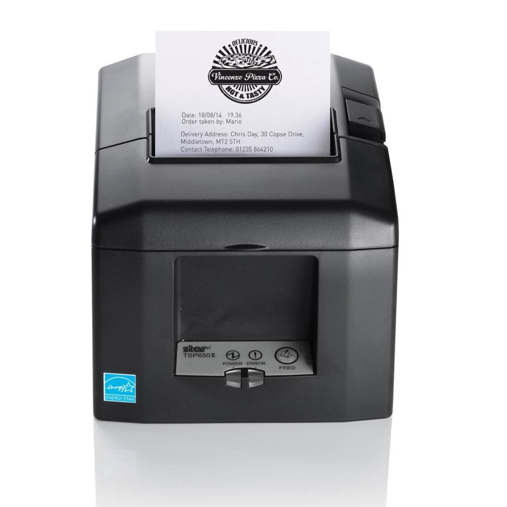 Pokladní tiskárna Star Micronics TSP 654 II Pokladní tiskárna, 203dpi, USB, LAN, černá 39449711