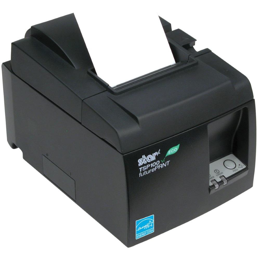 Pokladní tiskárna Star Micronics TSP143U ECO Pokladní tiskárna, černá, USB, řezačka 39464031