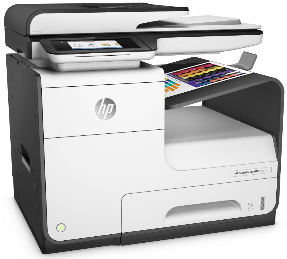 Multifunkční tiskárna HP PageWide Pro 477dw MFP Barevná multifunkční inkoustová tiskárna, A4, 55 ppm, print+scan+copy+fax, 1200x1200, LCD, USB, LAN, Wi-Fi, ADF, Duplex, černobílá D3Q20B