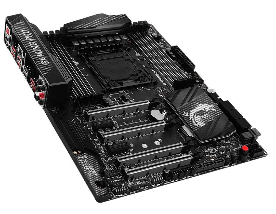 Základní deska MSI X99A GAMING PRO CARBON Základní deska, Intel X99, LGA2011-3, USB3.1, ATX X99A GAMING PRO CARB