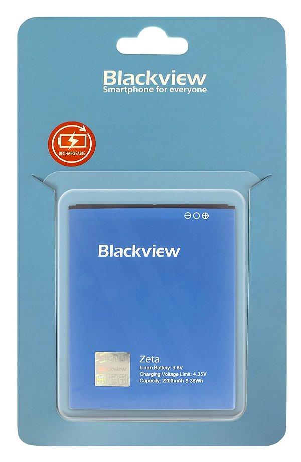 Baterie iGET pro Blackview Zeta 2200 mAh Baterie, pro mobilní telefon iGET Blackview Zeta, 2200 mAh, 3,8V 84000400