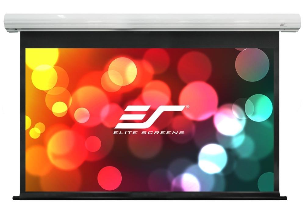 Projekční plátno ELITE SCREENS SK150NXW2-E6 150 Projekční plátno, elektrické motorové, 150 381 cm, 16:10, 201,9 x 323,1 cm, Fiberglass, drop 6, case bílý SK150NXW2-E6