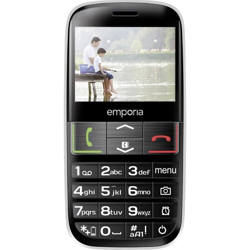 Mobilní telefon Emporia Euphoria Mobilní telefon, 2,4, TFT, 2 Mpx, SOS, pro seniory TELEMEUPHORIA