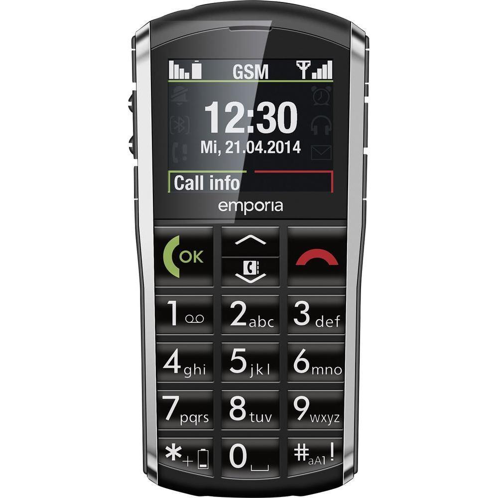 Mobilní telefon Emporia Pure Mobilní telefon, 2, TFT, 1000 mAh, SOS, pro seniory TELEMPURE
